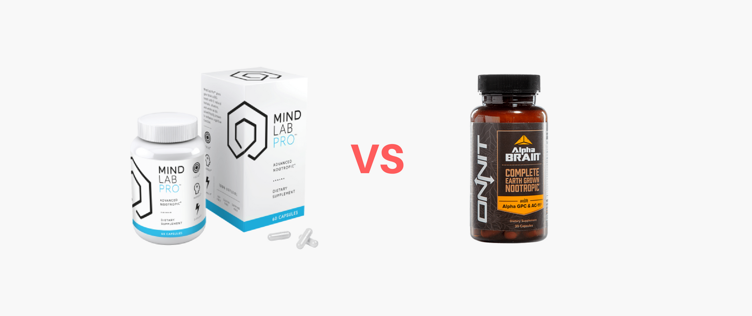 Mind Lab Pro Vs Alpha Brain Which Nootropic Reigns